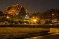 Just opposite of Wat Arun. It's worth to turn around sometimes.