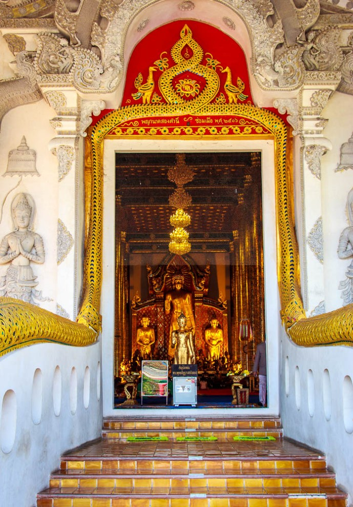 The abundancy of temples in Chiang Mai is amazing.