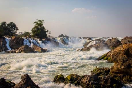 The Khon Phapheng Falls.