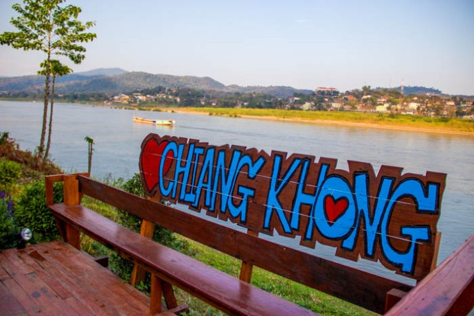 My last day in Thailand - the lazy and laid back border town of Chiang Khong