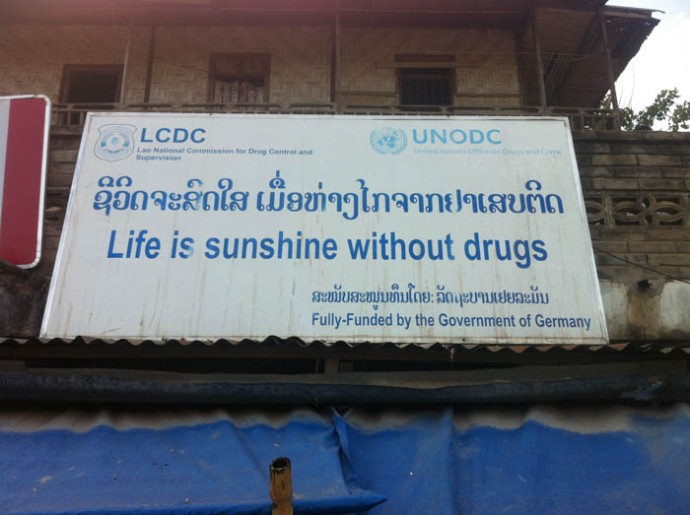 I am so poud that our government helps Laos.Wow!