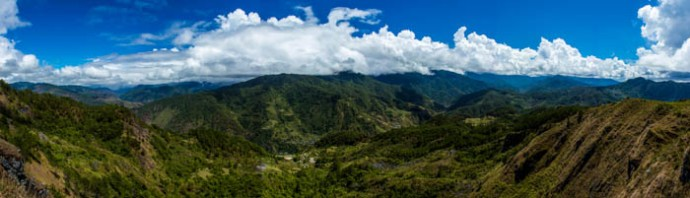 Panorama from our viewpoint. The hike was really rewarding.