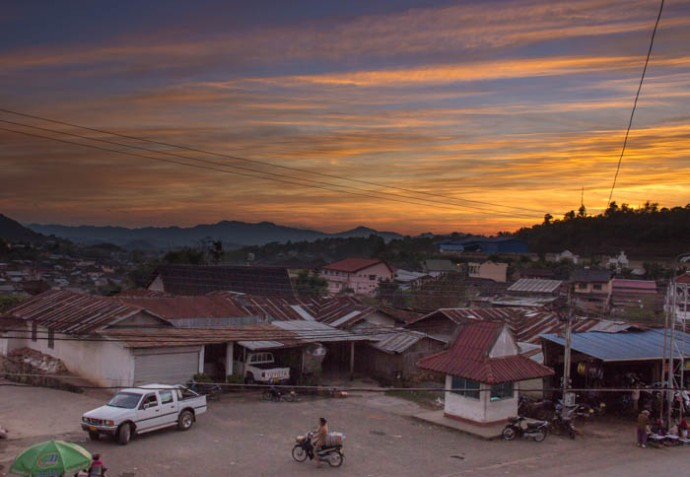 The beginning of an eyeopening stay in the far North of Laos.
