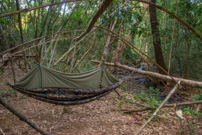 I bought one of these hammocks. Hopefully of use for future trips.