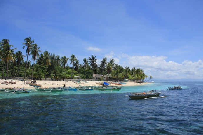 Malapascua - Bounty Beach.