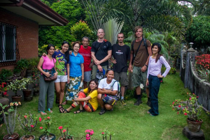 Farewell from our hosts at Bulusan. Thanks for the good time.