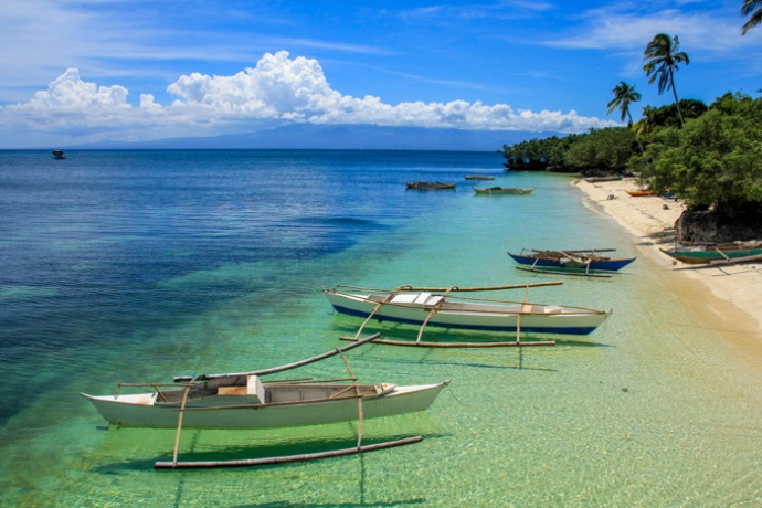 Our first snorkeling stop on Siquijor.