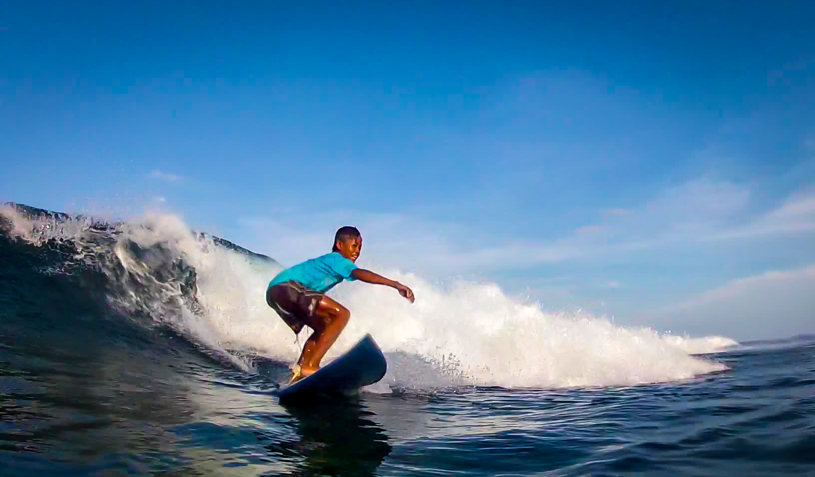 Surfing a Secret Spot in Catanduanes