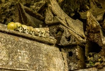 Tanah Toraja, Skulls