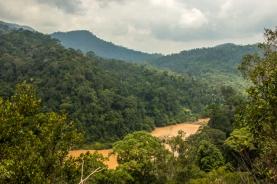 View from Bukit Indah.