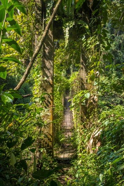 Bridge out of Indiana Jones