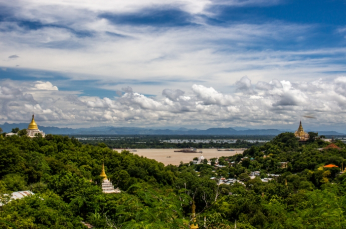 View from Sagaing Hill.