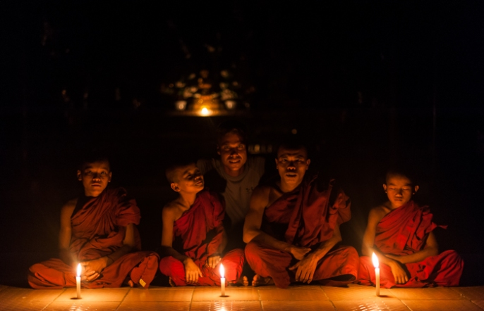 A night in a Burmese monastery