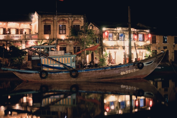 Night in Hoi An, Vietnam