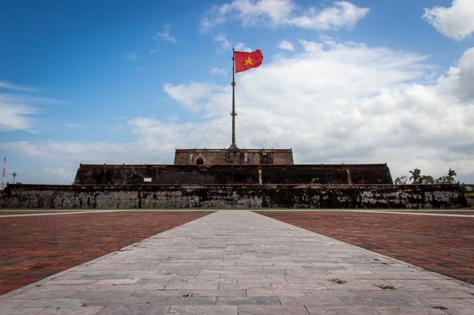 War memorial Hue, Vietnam