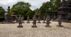 Hue, Tomb of Kai Dinh - Statues