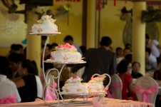 Wedding cake, Hue, Vietnam