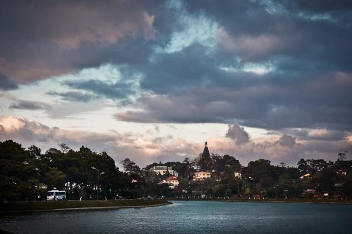 Dalat panorama, Vietnam