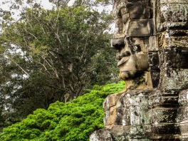 Face at Bayon, Angkor