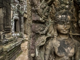 Carvings at Bayon, Angkor