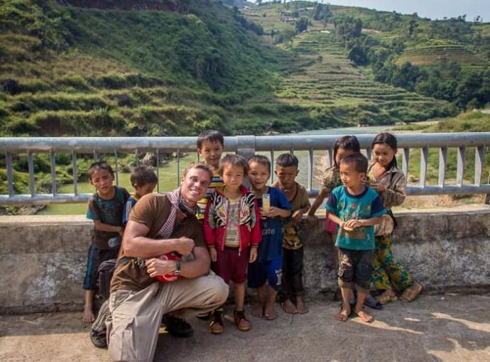 Ha Giang Motorbike Trip - New friends