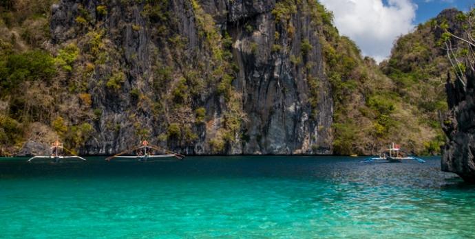Lagoon in El Nido, Palawan