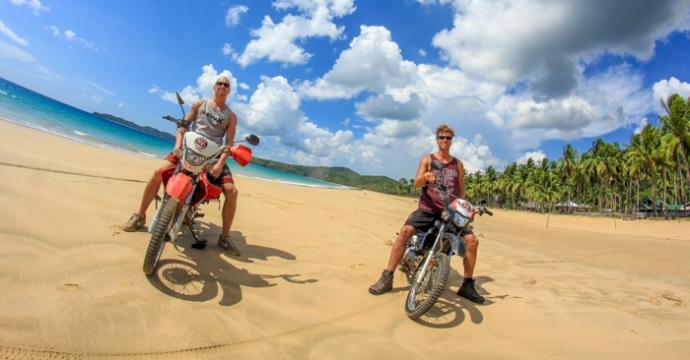 Motorbike Trip El Nido-Nacpan Beach