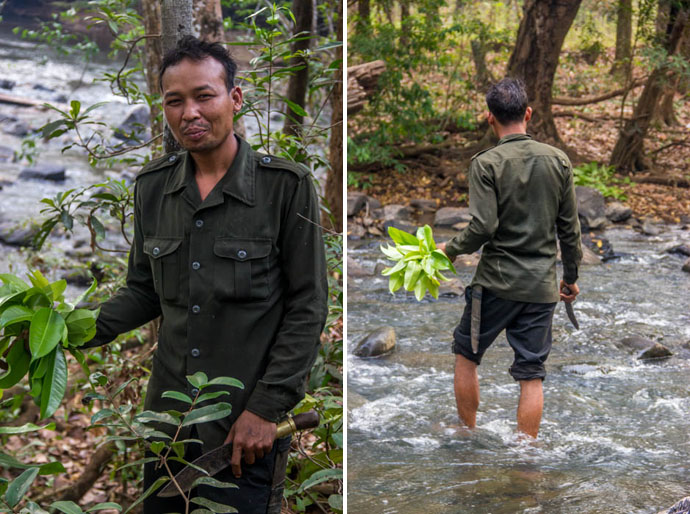 Guide in Mondulkiri Trek, Cambodia