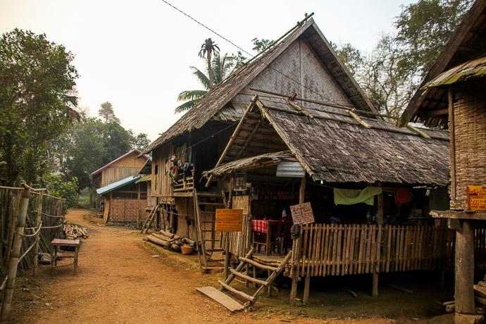 Village Ban Hoybor, Muang Ngoi, Laos