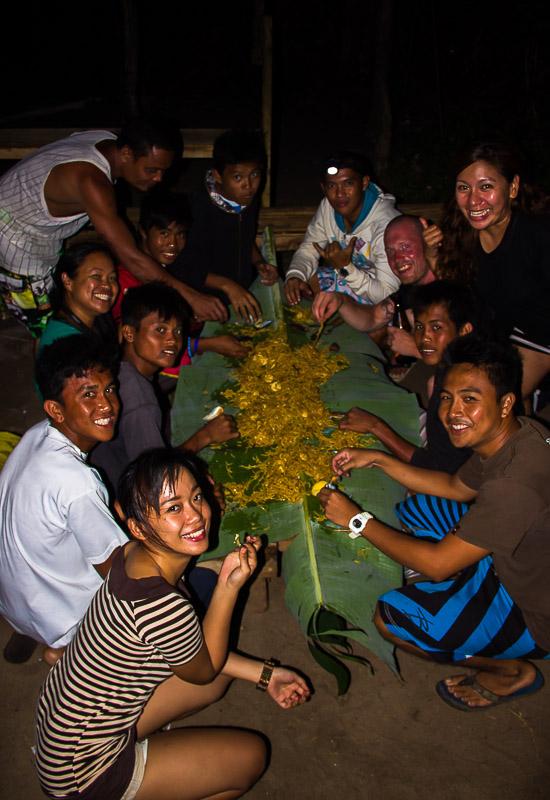 Traditional Philippine Food in Gubat