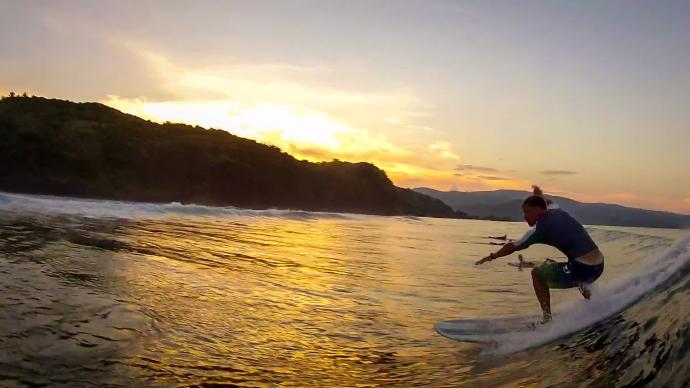Surfing Catanduanes