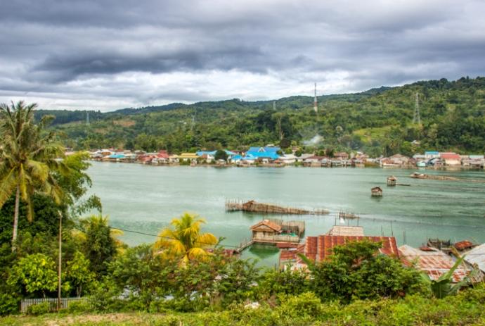 Tentena Panorama, Sulawesi