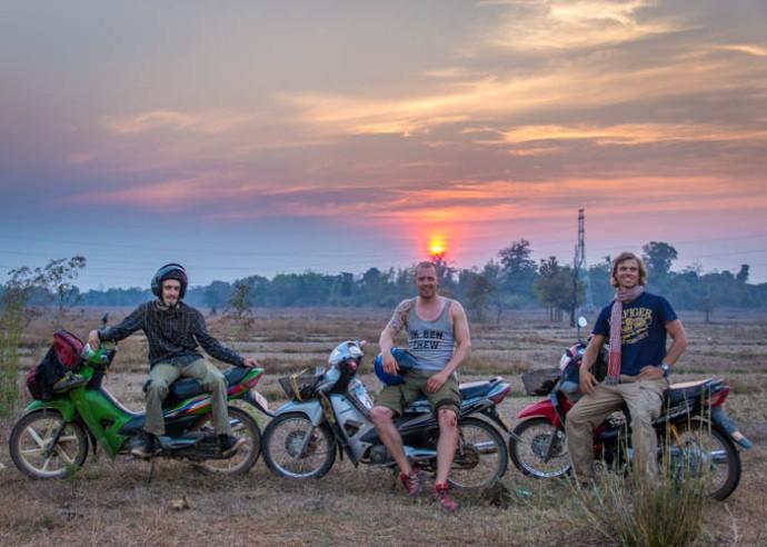 On the Thakhek Loop, Laos