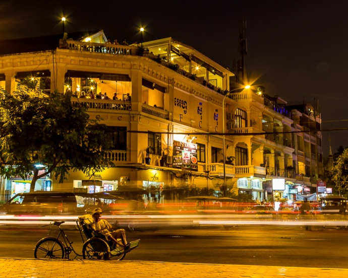 Phnom Penh Night Scene