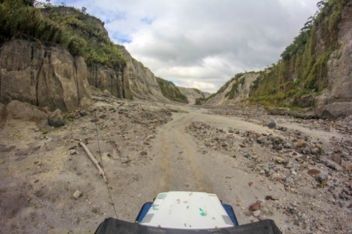 4 by 4 riding at Mt. Pinatubo