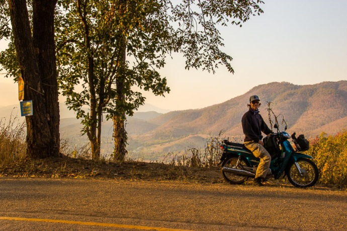 Solo motorbike tour along the Mae Hong Song Loop, Northern Thailand