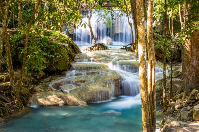 Erawan Falls-Thailand