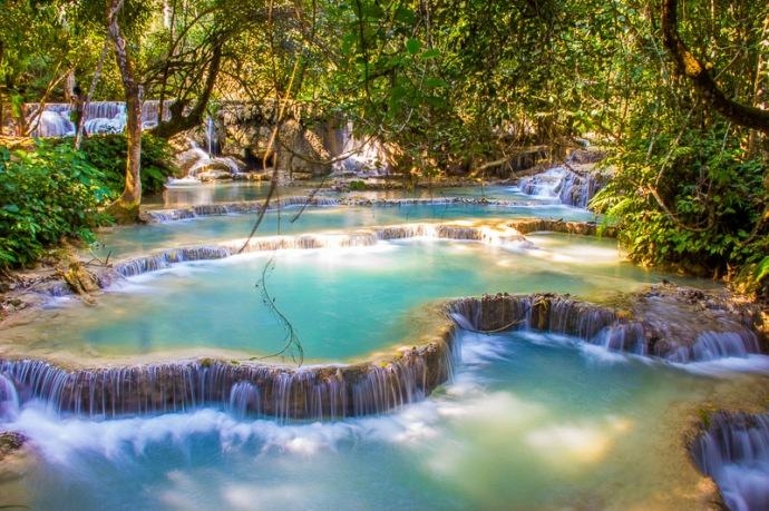 Kuang Si Fall-Luang Prabang