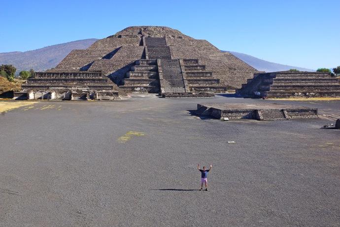 Mexico City Aztec Pyramids