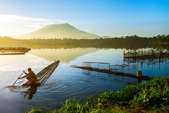 Philippines-Lake Sampaloc, San Pablo City