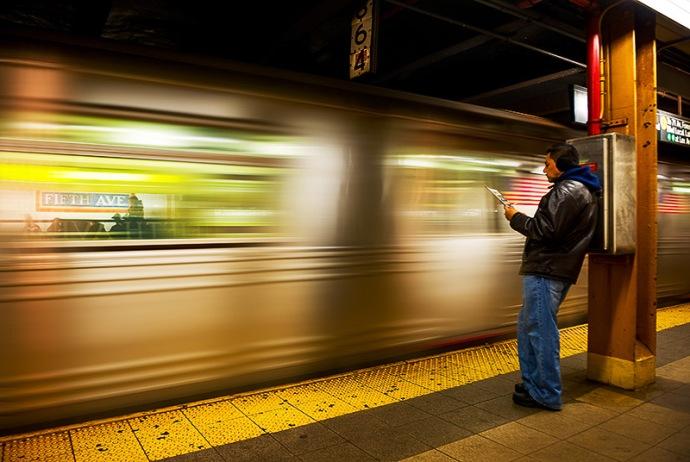 USA-Subway Fifth Avenue, New York City