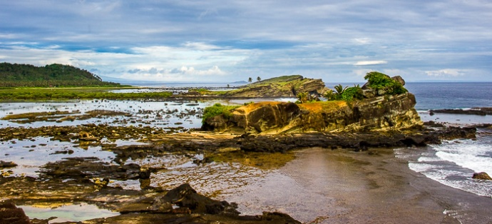 Rock Formations. Biri Island, The Philippines
