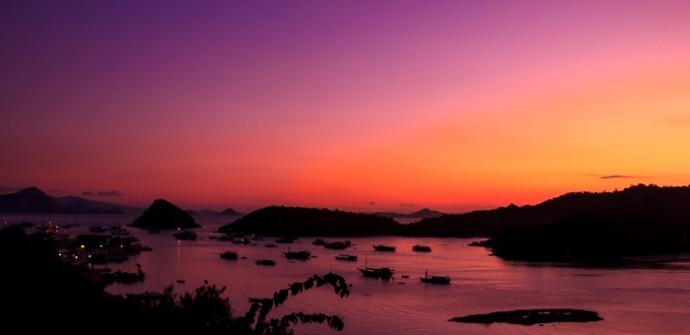 Labuan Baju Sunset