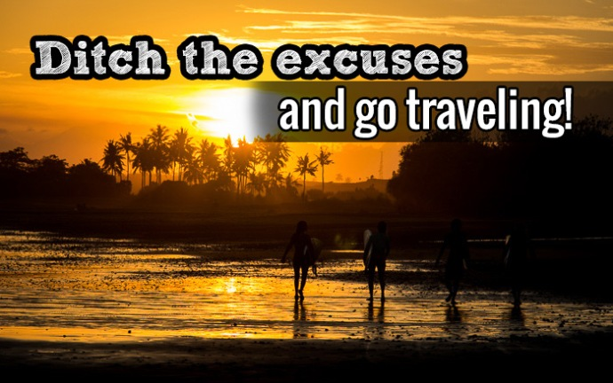 Excuses to go traveling