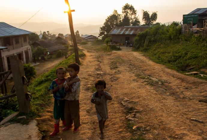 Shan State MYanmar kids