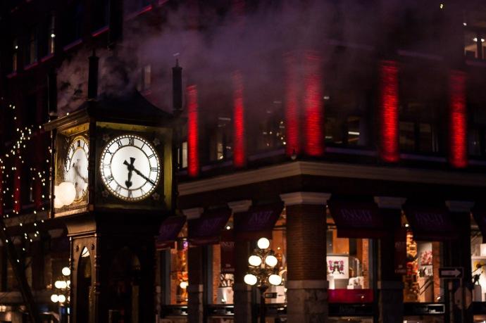 Steamclock gastown Vancouver