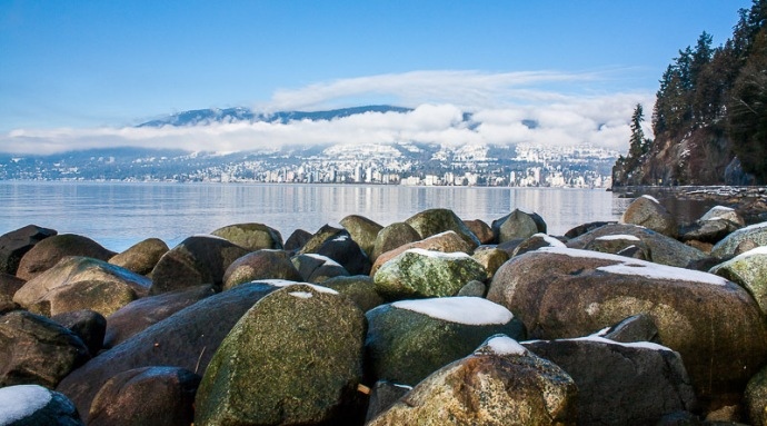 Vancouver Seawall view
