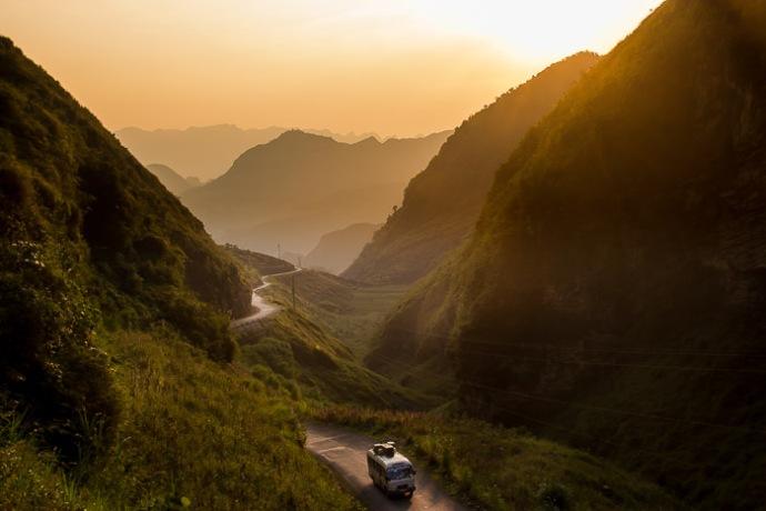 Ha Giang roads