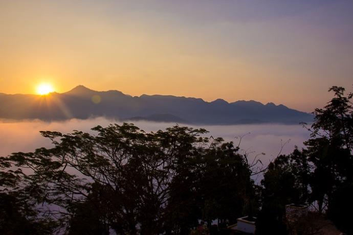Mae Hong Song Sunrise