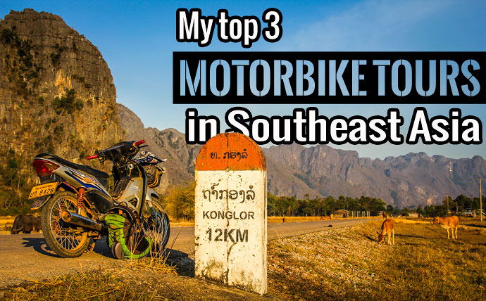 Best motorbike tours in southeast asia